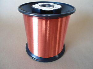 Awg 43 Copper Magnet Wire Spn 155 Red Weight 6 15 Lbs