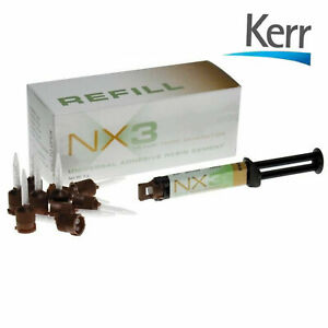 Nx3 Dental Adhesive Resin Cement Clear X10 Boxes By Kerr Sale