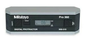 Nib Mitutoyo 950 315 P360 Digital Protractor no Output