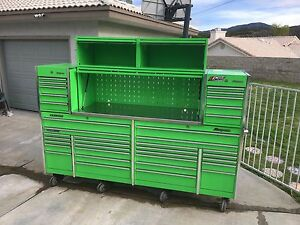 Dieseltechron s Snap On Tool Box Extreme Green