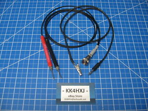Custom Vtvm Probe Set Assembled B k eico knight rca paco Meters More