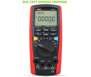 Ut71e Lcd Digital Multimeter With Usb Interface Frequency Tester Meter
