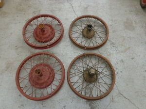 Model T Ford Accessory Hayes Wire Wheels Mt 734