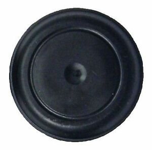 1 Black Rubber Plug For Flush Mount Body And Sheet Metal Hole Qty 1 1 0 Inch