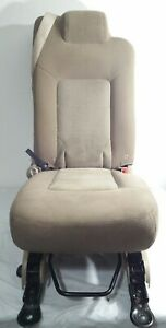 03 06 Expedition Tan Cloth Second 2nd Row Seat Middle Jump Seat Center Oem