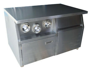 1 2m Commercial Center Island Fast Food Restaurant Equipment Stailess Steel