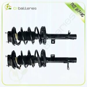 For 2000 2005 Ford Focus Front 2 Pcs Complete Struts Coil Spring Assembly Kits