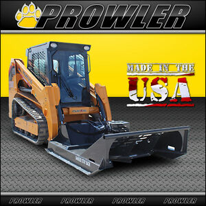 60 Inch Extreme Duty Brush Mower 17 30 Gpm Flow Skid Steer Cutter Attachment