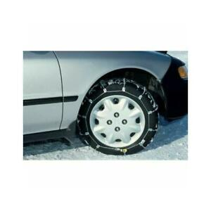 Scc 14 15 16 Radial Snow Chain Cable Traction Tire Chain Set Of 2 Sc1030