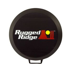 Rugged Ridge 6 Inch Hid Off Road Light Cover Black 15210 5