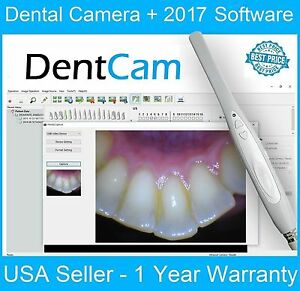 2017 Dentcam Digital 740b Intraoral Intra Oral Dental Camera Usb Pc Mac Apple