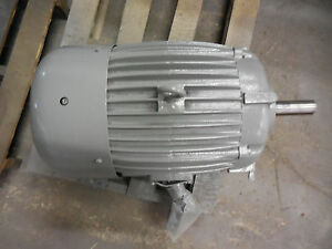 Delco Electric Motor 20hp 286u Frame 208 220 440 Volts K82499