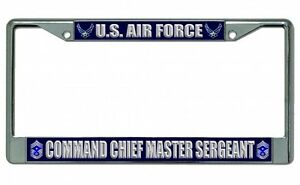 U S Air Force Command Chief Master Sergeant Photo Frame