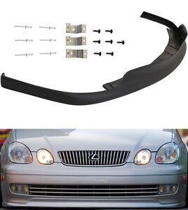 Fit For 98 05 Lexus Gs300 400 430 Tte Style Front Bumper Lip Spoiler Body Kit Pu