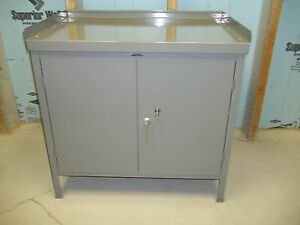 Lyon Steel Cabinet Bench