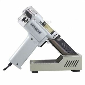 220v S 997p Electric 100w Practical Vacuum Pump Solder Desoldering Gun Sucker