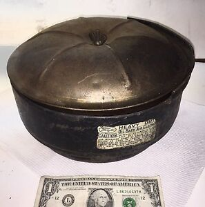 Vintage 1940 S 1950 S Ford Heavy Duty Oil Bath Air Cleaner Filter