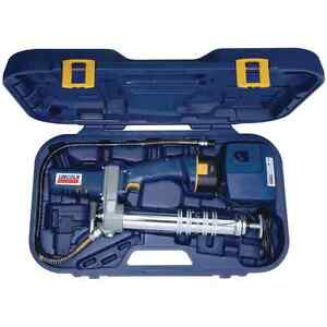Lincoln 12v Dc Cordless Rechargeable Grease Gun With Case And Charger Lin1242