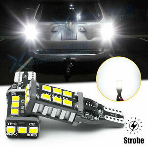 White Led High Beam Daytime Running Light Bulb For Acura Ilx Tsx Mdx Tl Rl Honda