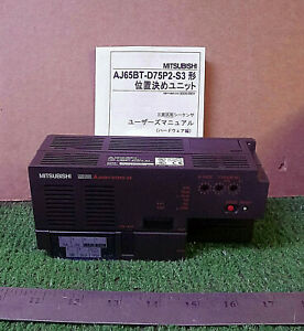1 New Mitsubishi Melsec Aj65bt d75p2 s3 Positioning Unit make Offer