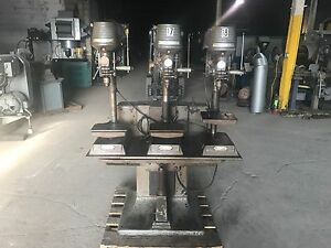 Rockwell Delta 3 Head Drill Press 110 Volt