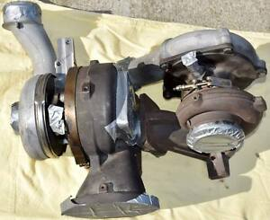 Rebuilt New Turbo Set For 6 4l Ford Powerstroke 2008 2010
