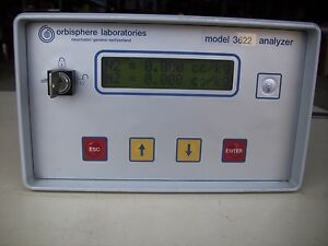 Orbisphere Laboratories 3622 Oxygen Analyzer Model 3622 5224
