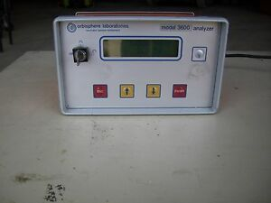 Orbisphere Laboratories 3600 Oxygen Analyzer Model 3600 220e