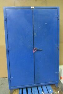 Strong Hold 48 x24 x72 Stronghold Heavy Duty Steel Storage Cabinet 4 Shelf 5