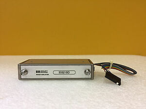 Hp Agilent 33321sd Dc To 4 Ghz 0 To 75 Db Sma f Step Attenuator Tested