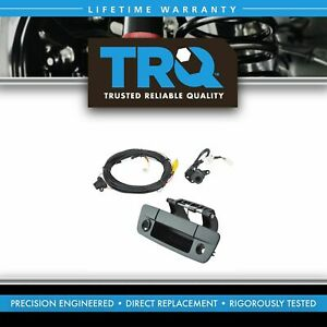 Trq Rear View Camera Add On Kit W Wiring Harness Tailgate Handle For Dodge