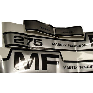 Vinyl Hood Decal Kit For Massey Ferguson 275