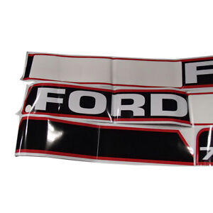 Vinyl Hood Decal Kit Fits Ford 7740