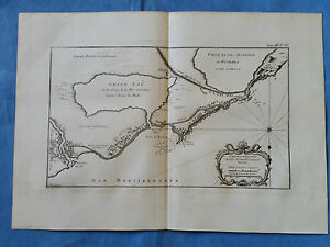 Coast Of Egypt Mouth Of Nile Bellin 1764