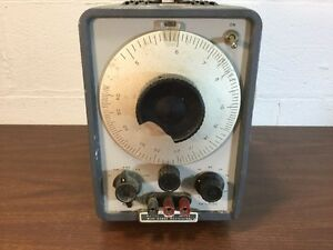 Vintage Hp Wide Range Oscillator Model 200cd Powers On Sold As Is
