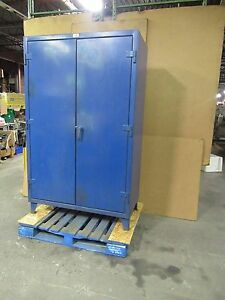 Strong Hold 48 x24 x72 Stronghold Heavy Duty Steel Storage Cabinet 4 Shelf 16