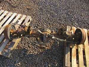 99 00 Pathfinder Rear End Axle Differential From 12 98 4 636 Ratio Non Locking