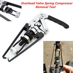 Heavy Duty Overhead Valve Spring Compressor Stem Engine Seal Keeper Removal Tool
