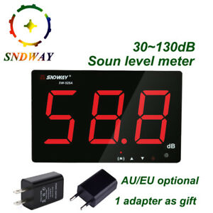 Digital Sound Level Meter 30 130db Large Screen Display Noise Decibel Meter