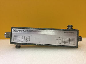 Hp Agilent 774d 002 215 To 450 Mhz Type N f m f f Dual Directional Coupler