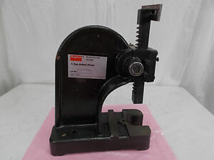 Dayton 1 Ton Arbor Press Model 4z328a