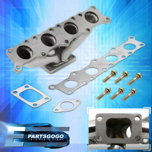 Vw Audi Golf Jetta Tt A4 1 8t T3 Flange Stainless Steel Turbo Manifold