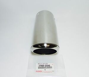 New Genuine Lexus Sc430 Left Lh Driver Side Exhaust Tail Pipe Baffle 17408 50040