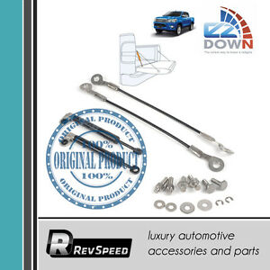 Ezdown Stabilus Tailgate Lift Support Smooth Drop Kit For Toyota Hilux 2016 2019