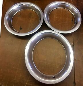 1969 1982 Corvette Trim Rings Original Fair Condition Qty Available