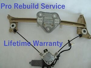 94 99 Toyota Celica Window Motor Regulator R Front Rebuild Svc Read Description