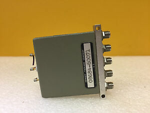 Hp Agilent 08648 67001 Dc To 4 Ghz 5 Vdc Sma f 5 Port Coaxial Switch