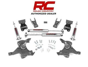 1988 98 Chevrolet Gmc 1500 Pickup 2wd 2 4 Rough Country Lowering Kit 725 20