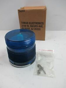 New Tomar Electronics Lte582 Visual Signaling Appliance Blue Dome Beacon Strobe