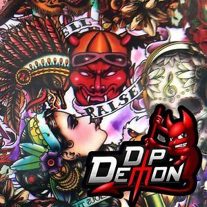 Tattoo Bomb Hydrographic Water Transfer Film Hydro Dip Dipping
